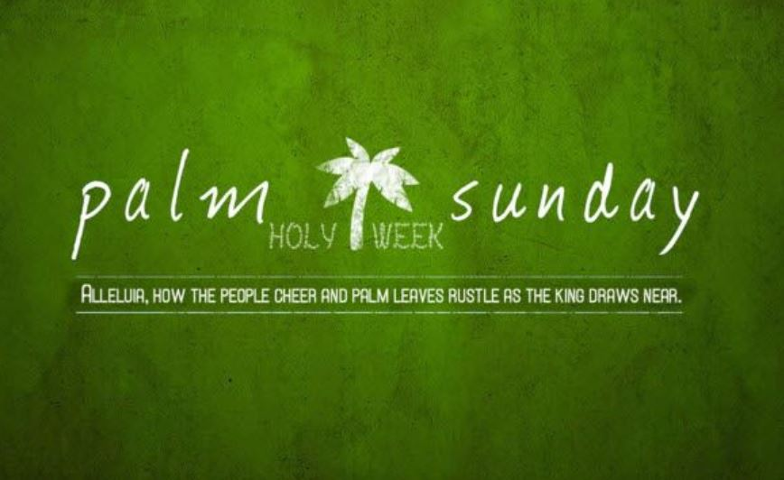 Happy Palm Sunday HD Wallpaper