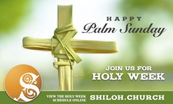 Happy Palm Sunday Messages