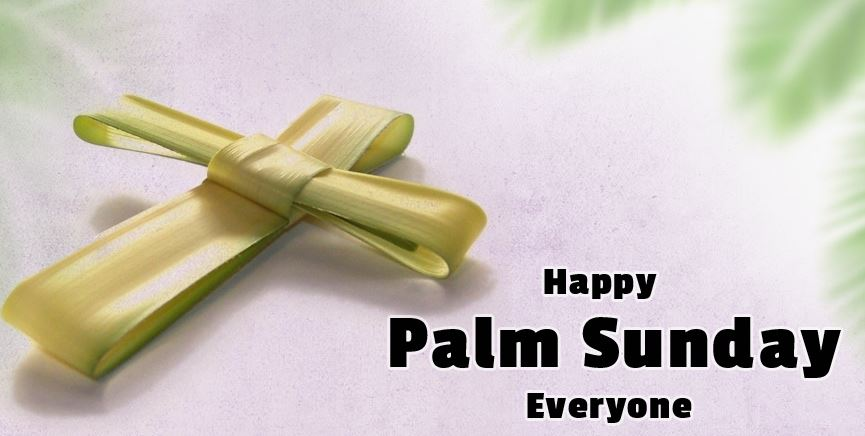 Happy Palm Sunday Wallpaper