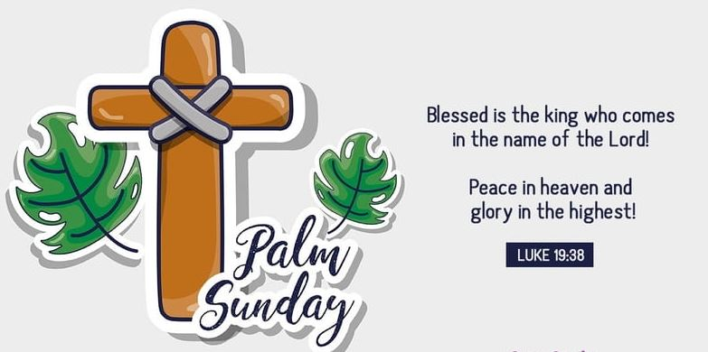 Palm Sunday Greetings Cards