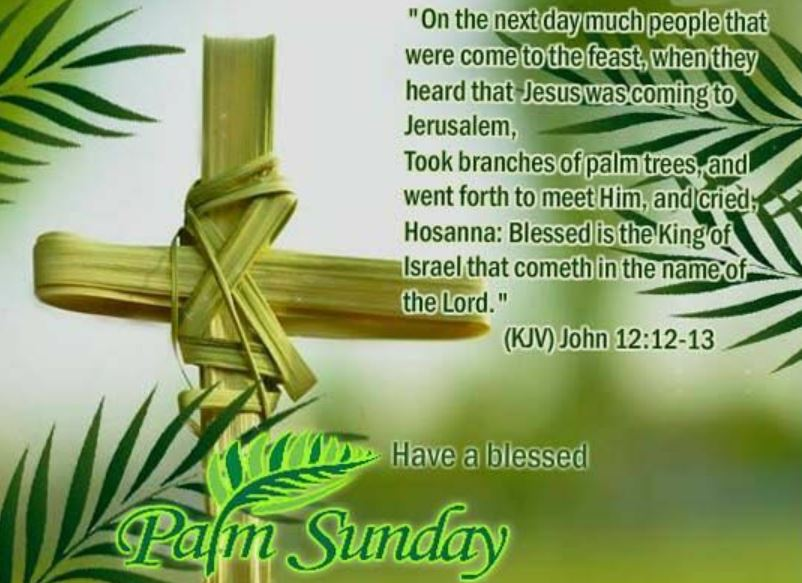 Palm Sunday Greetings