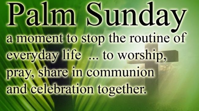 Palm Sunday Images 2020