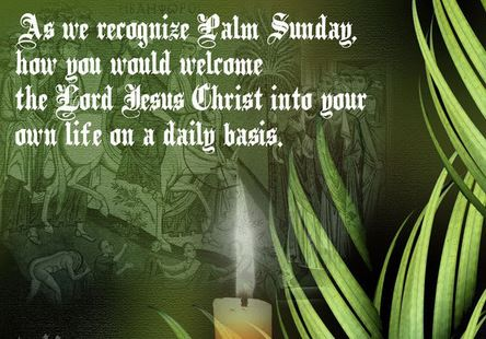Palm Sunday Images and Pictures