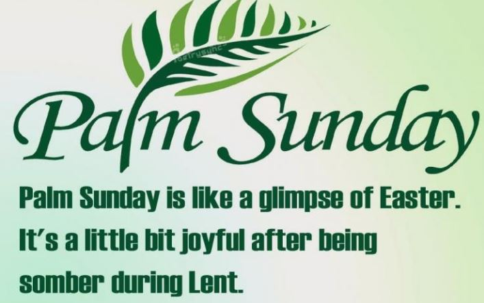 Palm Sunday Images with Quotes
