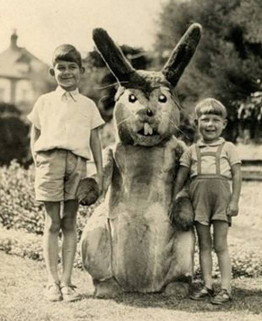 Vintage Easter Bunny Photos