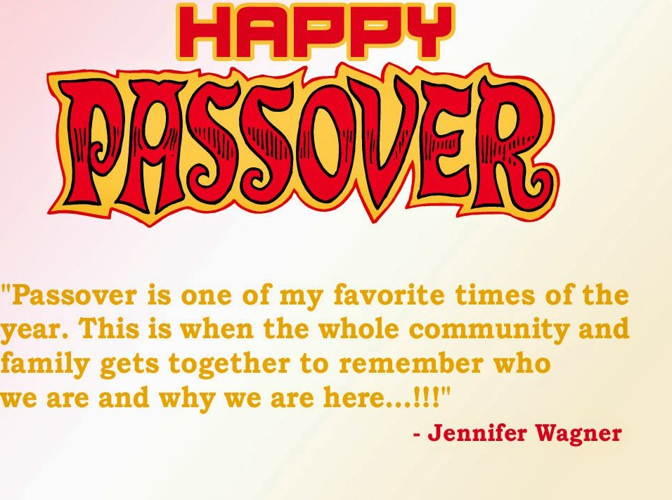 Passover Sayings