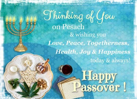 passover wishes for friend