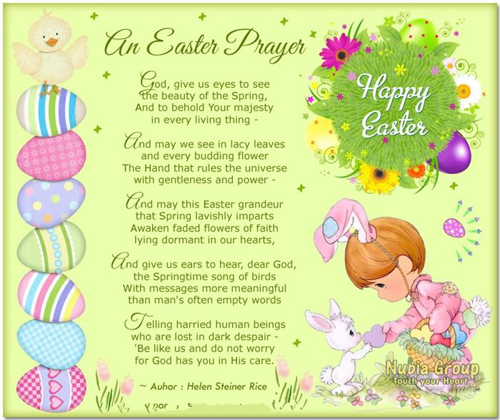 Easter Poems For Students