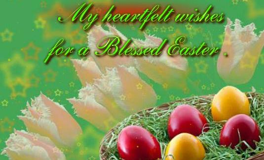 Easter Wishes Greetings