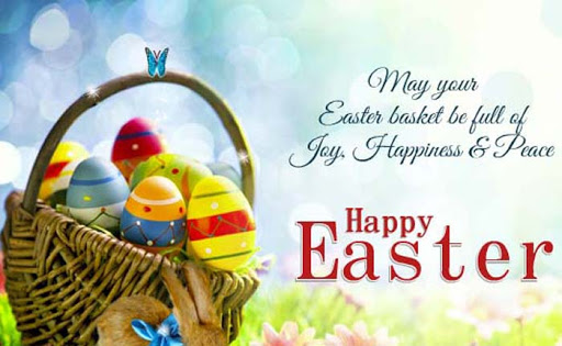 Happy easter greetings with images