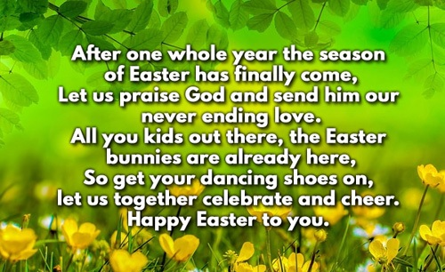 Religious Easter Poems and Prayers