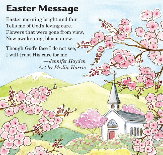 Short Happy Easter Poems