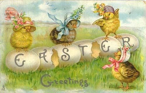 easter cards on Pinterest