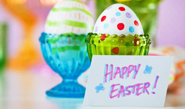 easter greetings msg