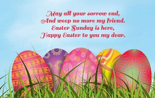 easter messages greetings