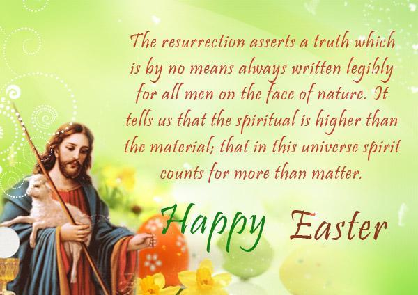 happy easter messages religious