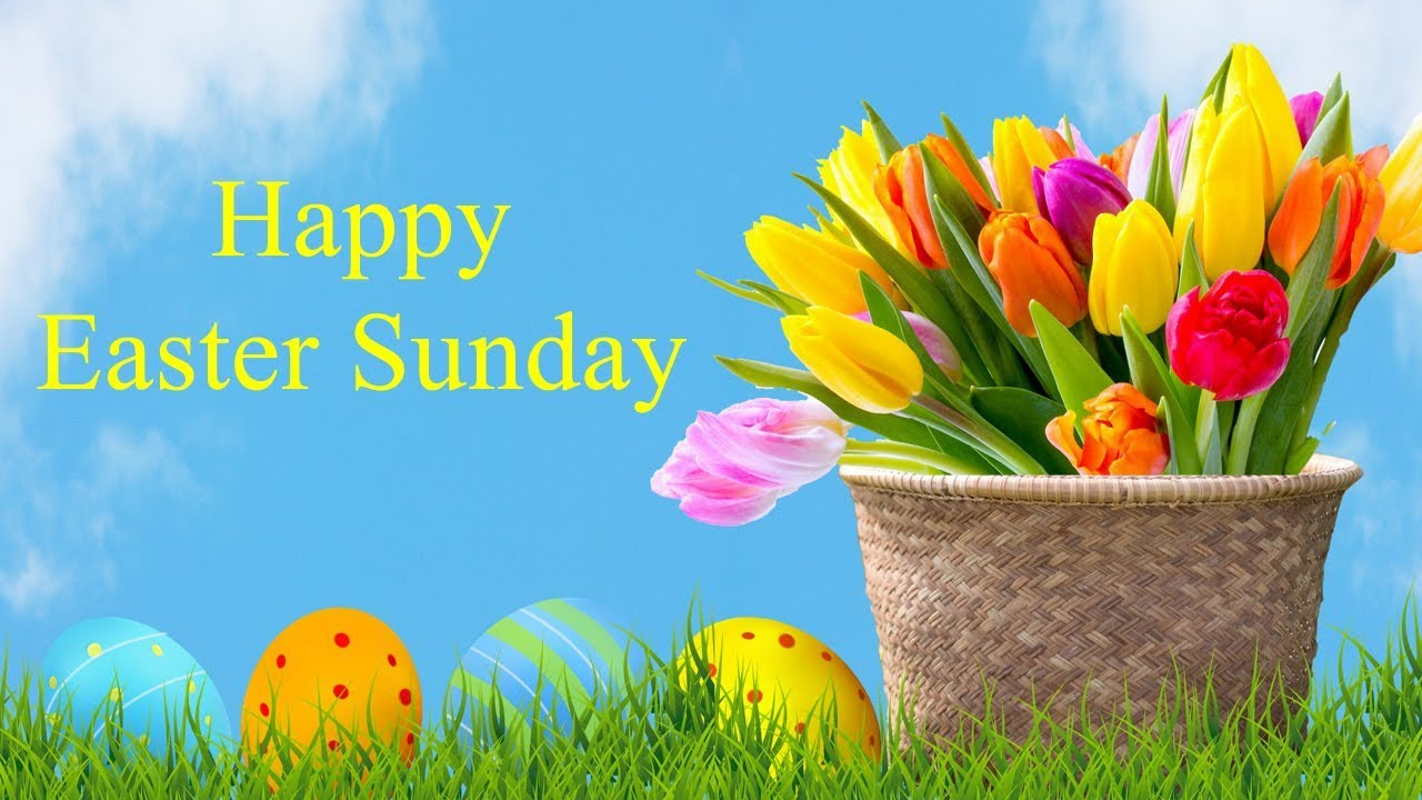 happy easter sunday wishes