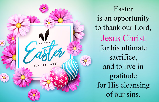 happy easter wishes for family and friends