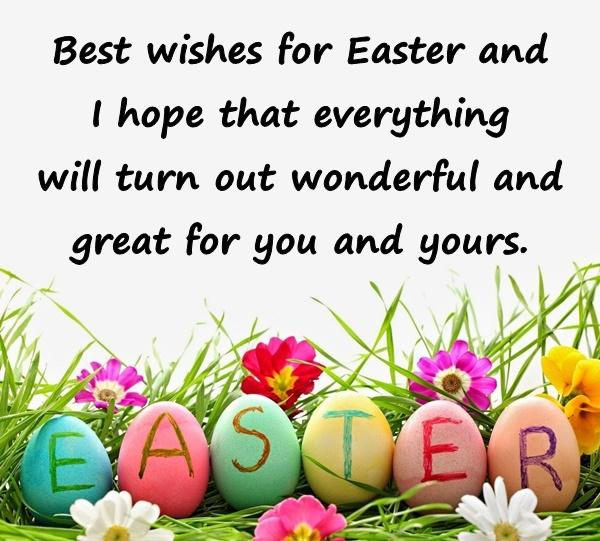 happy easter wishes to friends