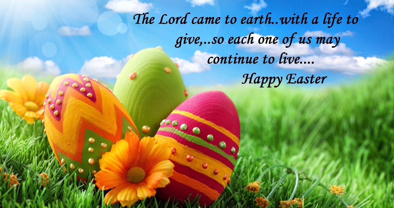 Happy Easter Status For Facebook