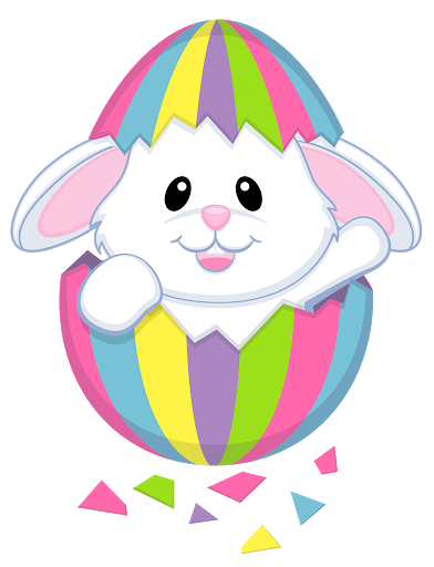 clipart of easter bunny