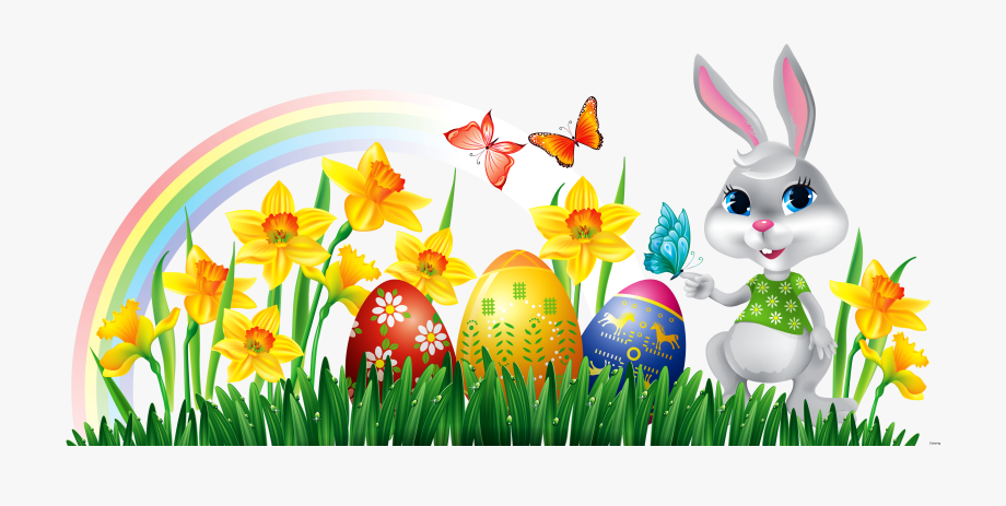 clipart of easter eggs